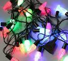 Гирлянда 40 LED разносветовая в ассортименте