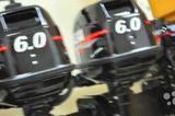 Лодочный мотор двухтактный для моторных лодок 9.8л
